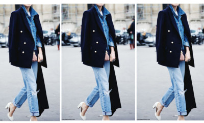 peacoat white shoes