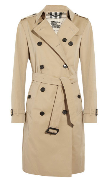 burberry trench is best