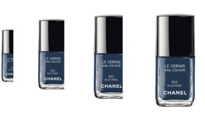 chanel vernis blue rebel
