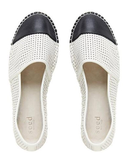 seed espadrille chic