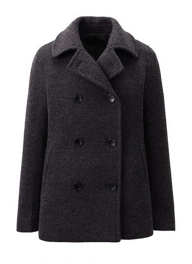 uniqlo best peacoat