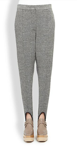 stella mac grey stirrup pants