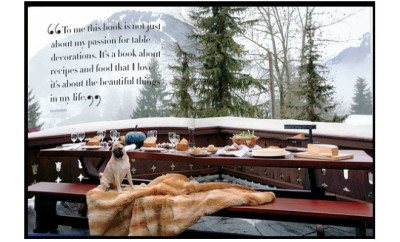 valemtini new book pug in Gstaad