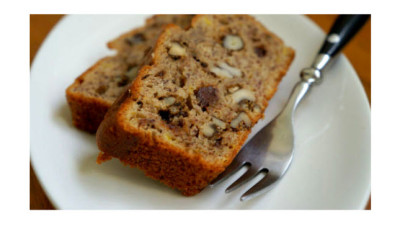 banana walnut chic loaf
