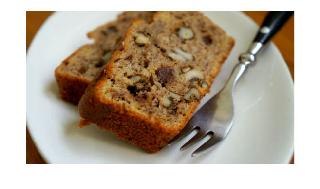 Chocolate Walnut Espresso Loaf Recipe — Dishmaps