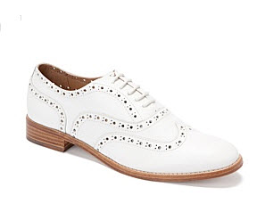trennery white brogues