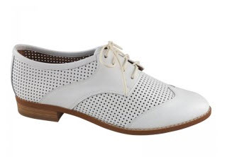 wittner white brogues