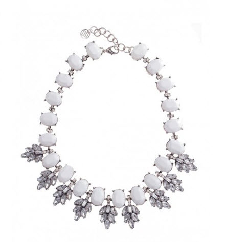 colette white necklace