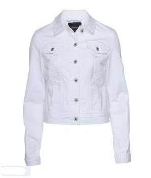 jeanswest white denim jacket
