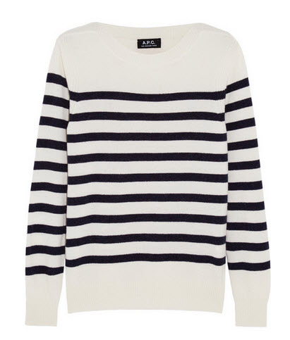 APC stripes sweater