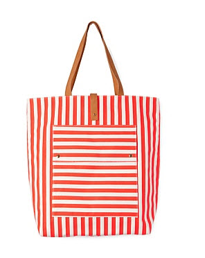 country road stripe bag