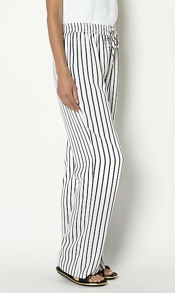witchery slouchy stripepants