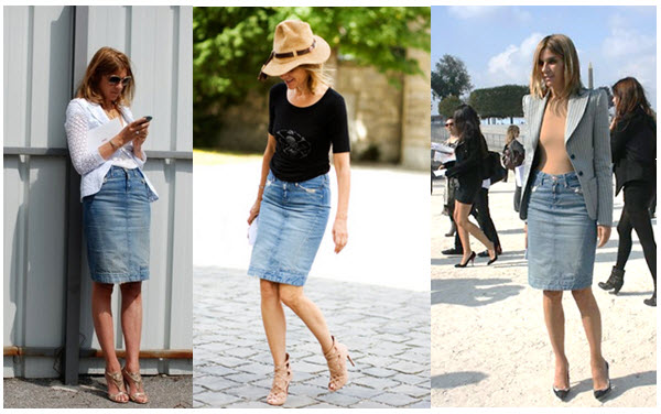 what's the Cheap & chic of the week ? A denim skirt. – The FiFi Report