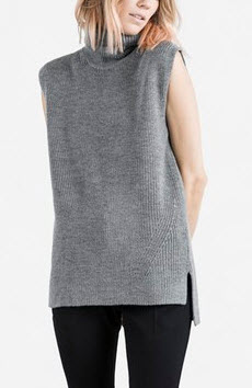everlane grey knit