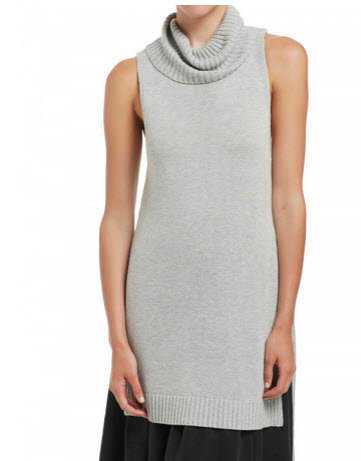 sussan grey knit