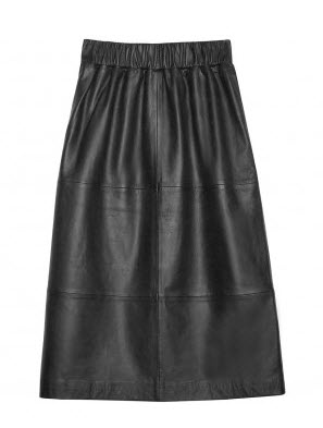 goeman leather skirt