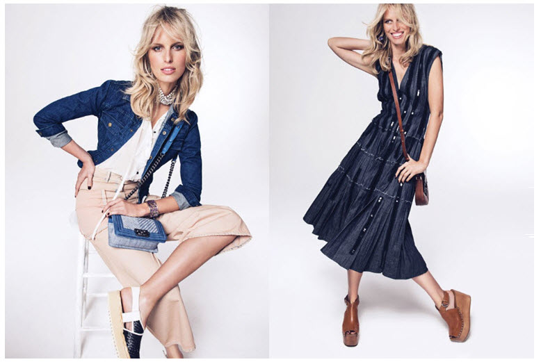 shoot of the week KK denim4
