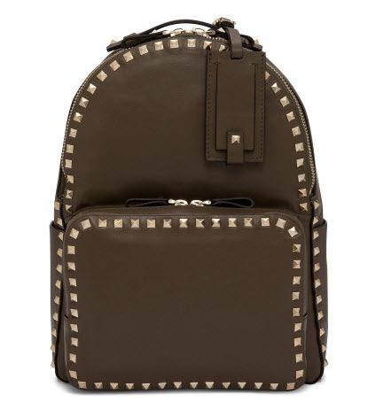 valentino stud back pack