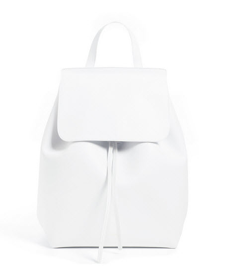 mansur gavriel white backpack