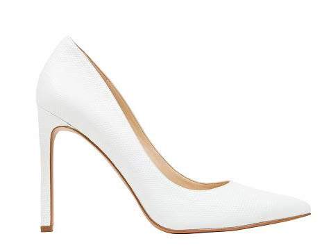 ninewest white heels