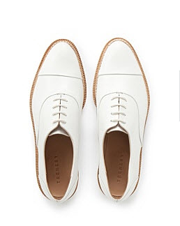 trenery white brogues