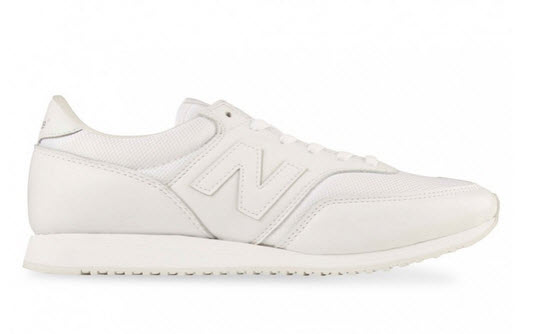 white newbalance sneakers