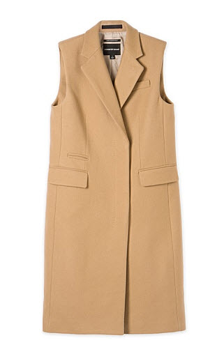 country road camel vest