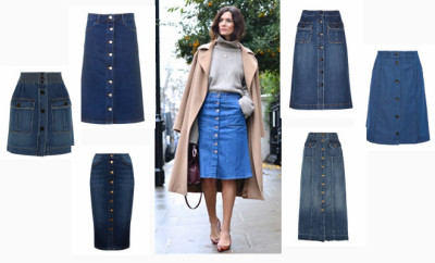 denim skirts main pic