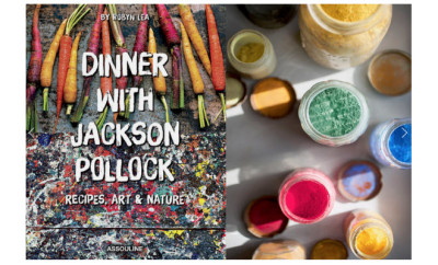 dinner with jackson pollack book