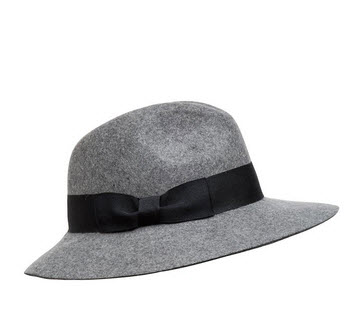 french conn grey hat