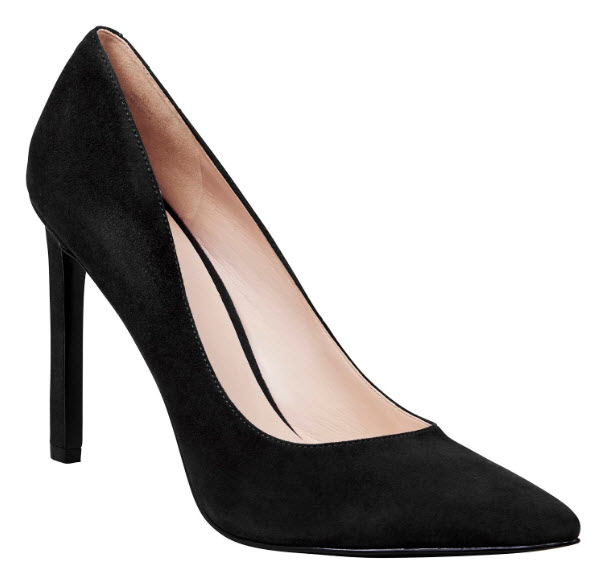 ninewest blk suede pumps