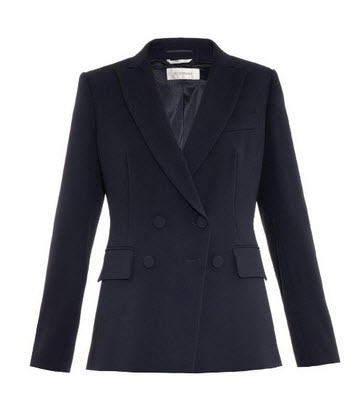 sportsmax blazer navy matches