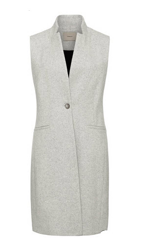 thurley grey vest