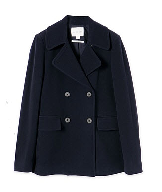 trenery peacoat navy