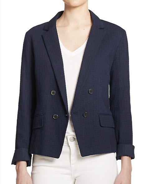 vince blazer from saks