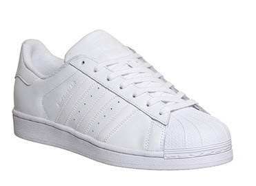addidas white trainers officeuk