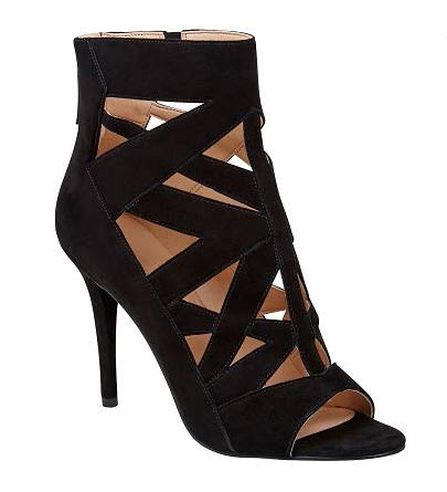 ninewest heels suede