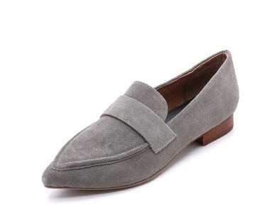 shopbop grey loafers