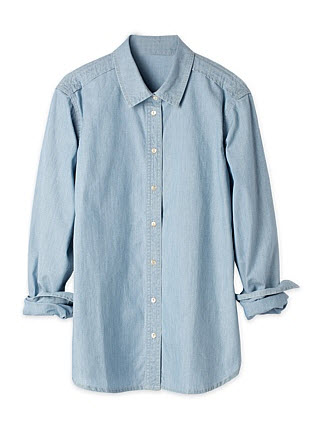 trenery denim shirt $59