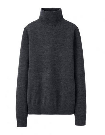 uniqlo $39 grey sweater