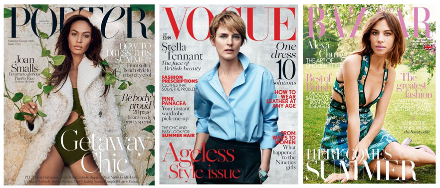 vogue covers x 3