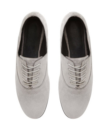 witchery grey suede flats now $69