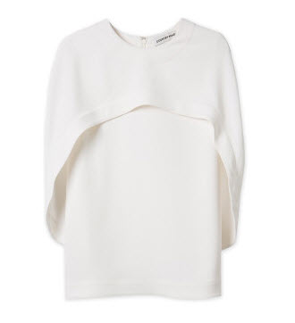 c road white cape top