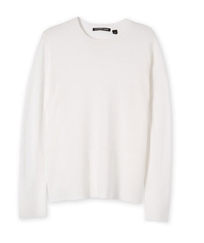 c road white sweater