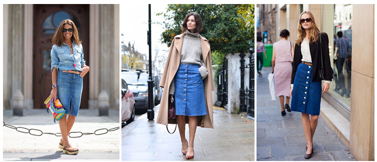 denim skirts streetstyleglassons