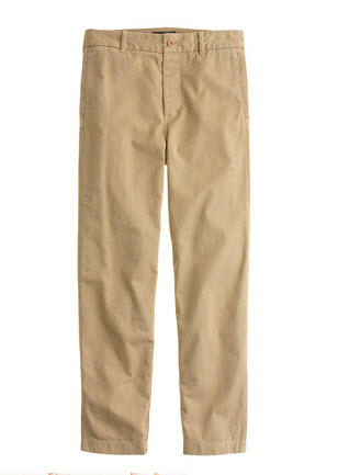 j crew chinos slouchy