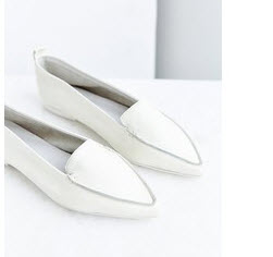 jeffrey campbell white flats
