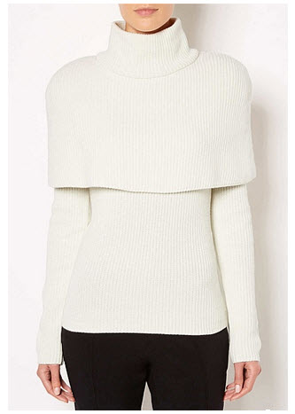 witchery cape sweater