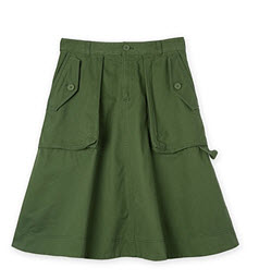 c road khkai utility skirt
