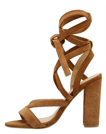 seed heels suede strappy